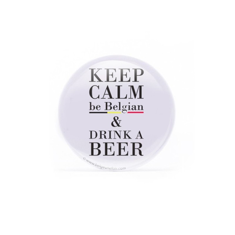 Badge  Be Belgian