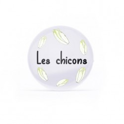Badge Les chicons